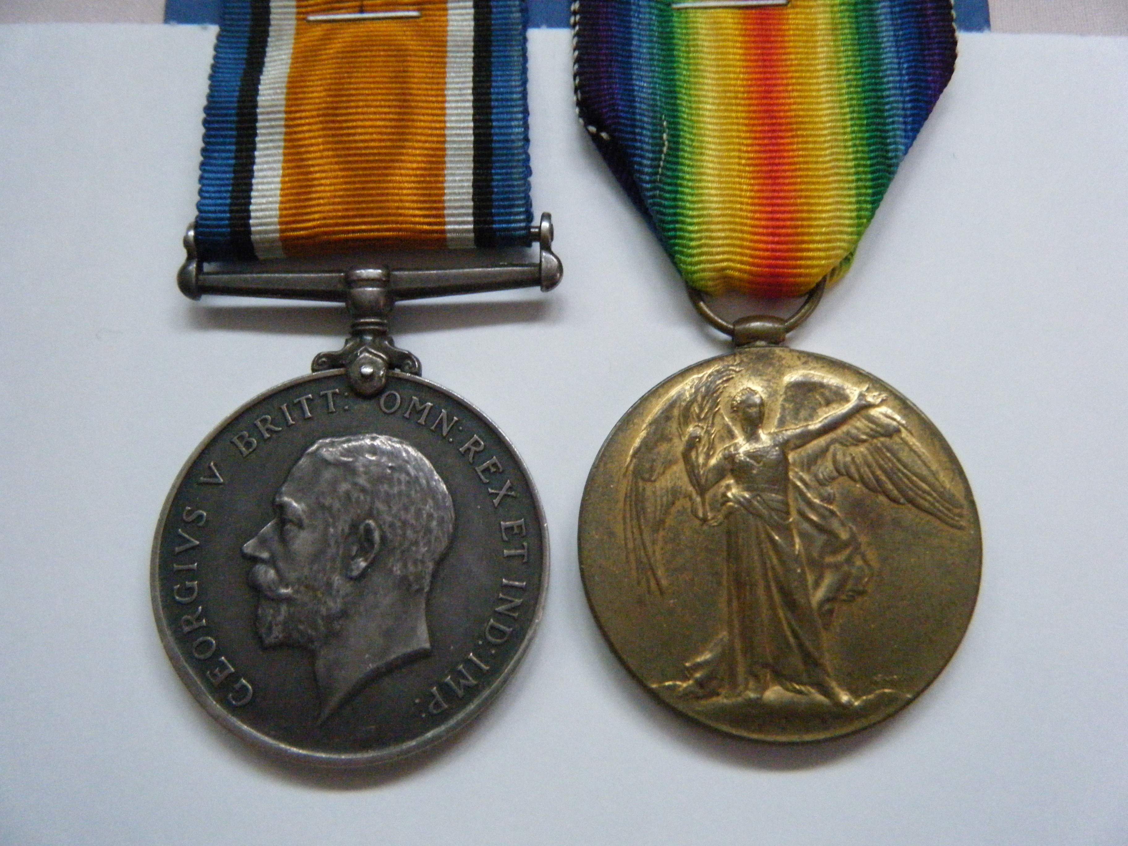PAIR.  105945 Gnr. H. Croft, Royal Artillery (served with 203rd Siege Bty.).