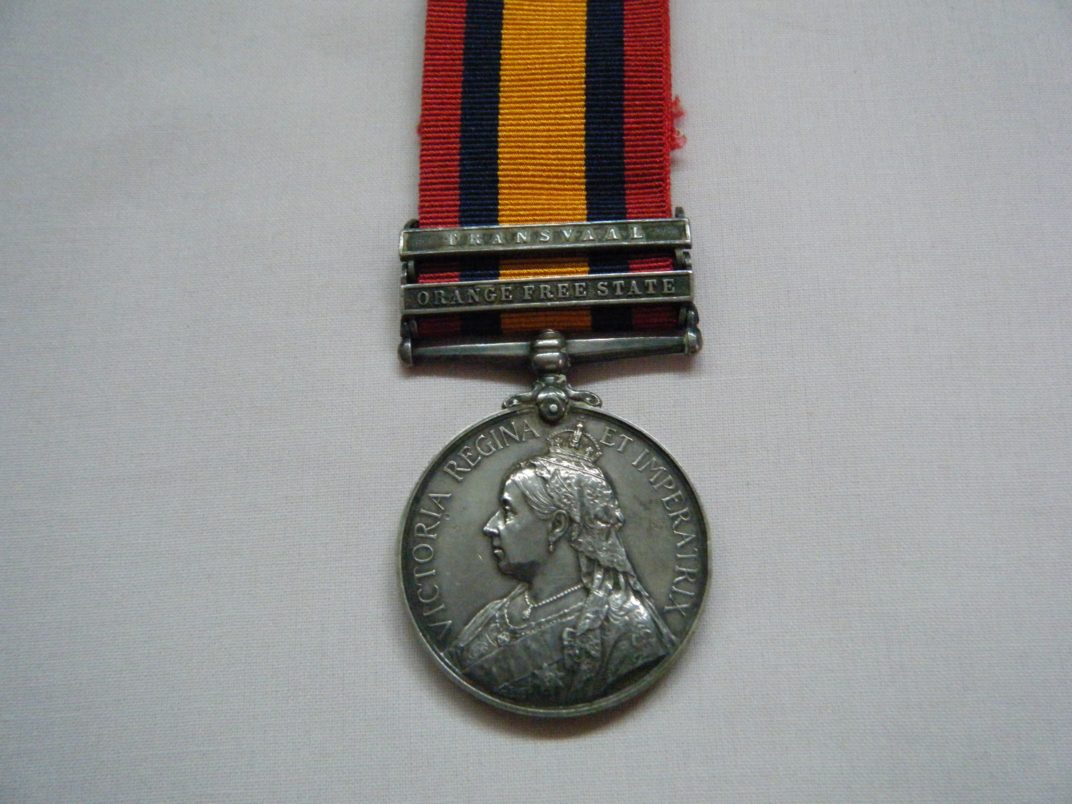 ONE.  2275 Pte. J. Garratt, King's Royal Rifle Corps (served with the 3rd Bn.).