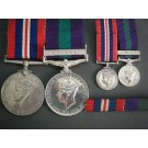 PAIR.  T/10714493 Sgt. J. Statham, Royal Army Service Corps (later Major, Royal Corps of Transport).