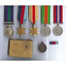 FIVE.  Rfmn. P.N. Leftwich, Rifle Brigade  (served with 2nd Bn. in 7th Armoured Division).