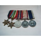 FIVE.  A.B. Cox, P.O., Royal Navy and Royal Australian Navy (his R.A.N. service papers available online).