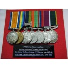 SEVEN.  Gnr. W.J. Dixon, Royal Artillery (with full copy papers).