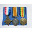 THREE.  19907 Pte. E.H. Hills, Wiltshire Regiment (served in Gallipoli and France, killed in action on 31/5/18).