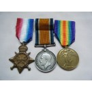 THREE.  Pte. H.E. Jones, Army Service Corps (15pp papers are at the National Archives).