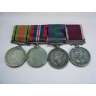 FOUR.  W.O.2. J. Peacock, Royal Engineers (with C.-in-C.'s Commendation).