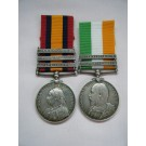 PAIR.  Sgt. F.C. Smith, Royal Engineers (with full papers, mentioned in despatches by Lord Kitchener 23/6/02).