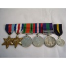 SIX.  Capt. A.C. Thompson, Royal Engineers  (with photos, documents, tankards and presentation bell from Asten).