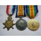 THREE.  13864 Pte. T. Turner, Royal Fusiliers (served with the 25th Bn. - Legion of Frontiersmen - in East Africa).