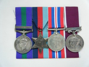 FOUR.  2818453 Sgt. A. Alexander, Seaforth Highlanders and Royal Army Service Corps (taken prisoner in France in 1940).