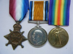 THREE.  1576 Pte. A.J. Reed, North Somerset Yeomanry (a tram conductor from Bristol).