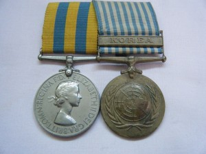 PAIR.  3/1134 Sgt. D.A. Moore, Australian Forces (served with the Royal Australian Corps of Signals).