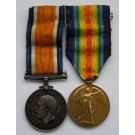 PAIR.  9018 Pte. G.T. Jones, Honourable Artillery Company - Infantry (a shipowner and chairman of a newspaper in Wales).