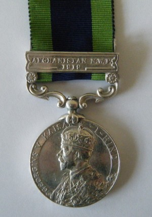 """ONE.  Risaldar Zabte Khan, 1st Lancers (mentioned in the book """"Indian Voices Of The Great War""""."""