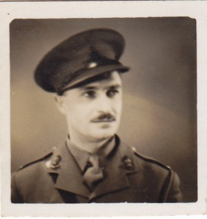 ONE.  Lieut. G.F. Savill, Royal Artillery.